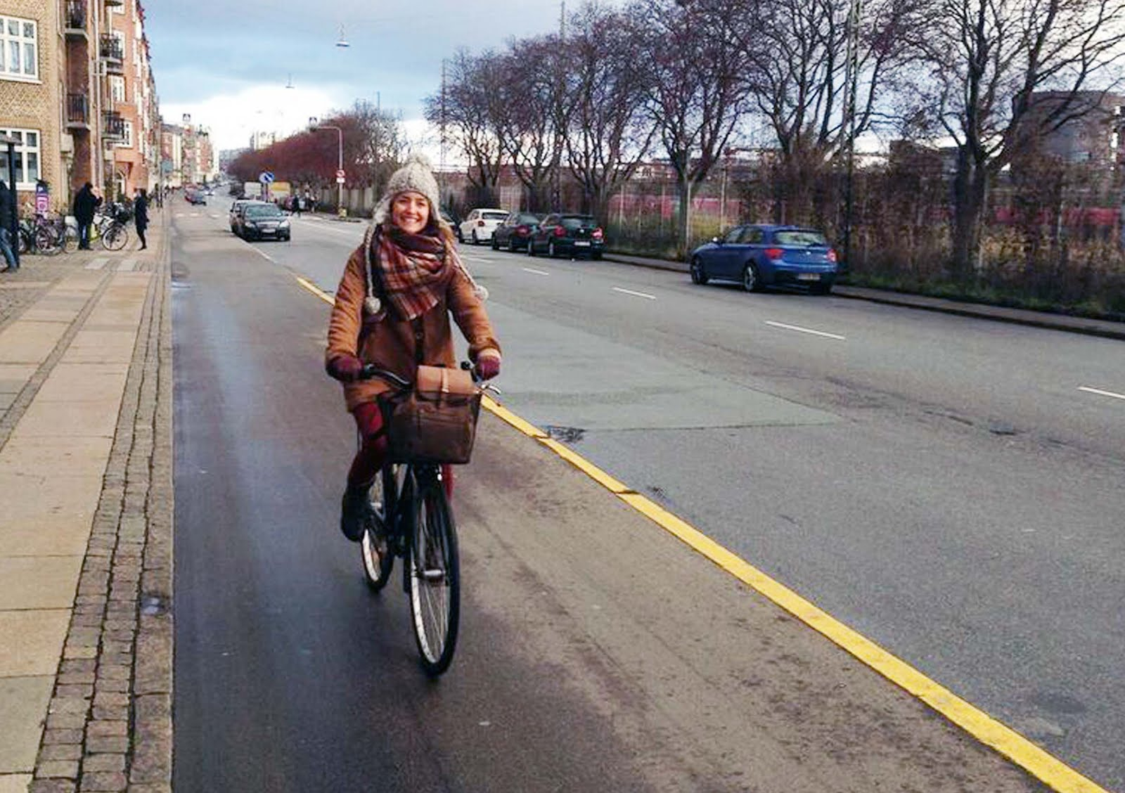 copenhague bicycle girl